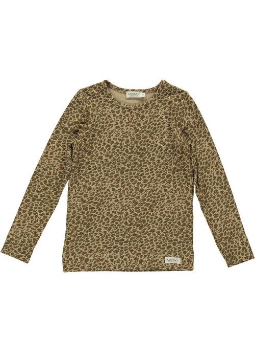MarMar MarMar Leo Tee- Leather Leopard