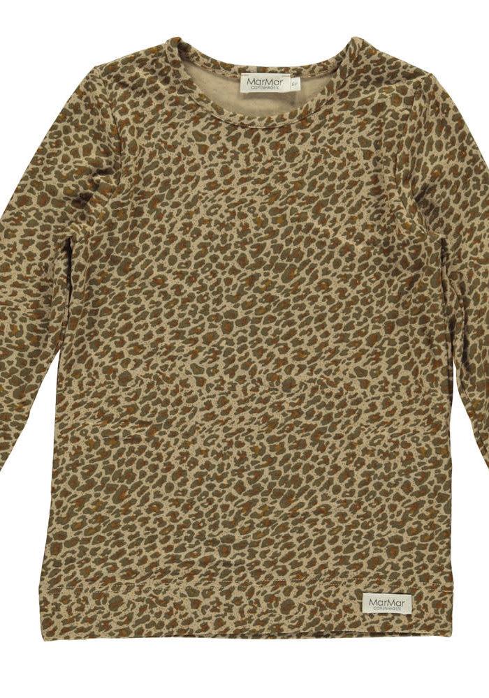 MarMar Leo Tee- Leather Leopard