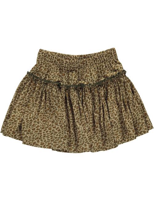 MarMar MarMar Sylvia Skirt Leather Leo Leopard