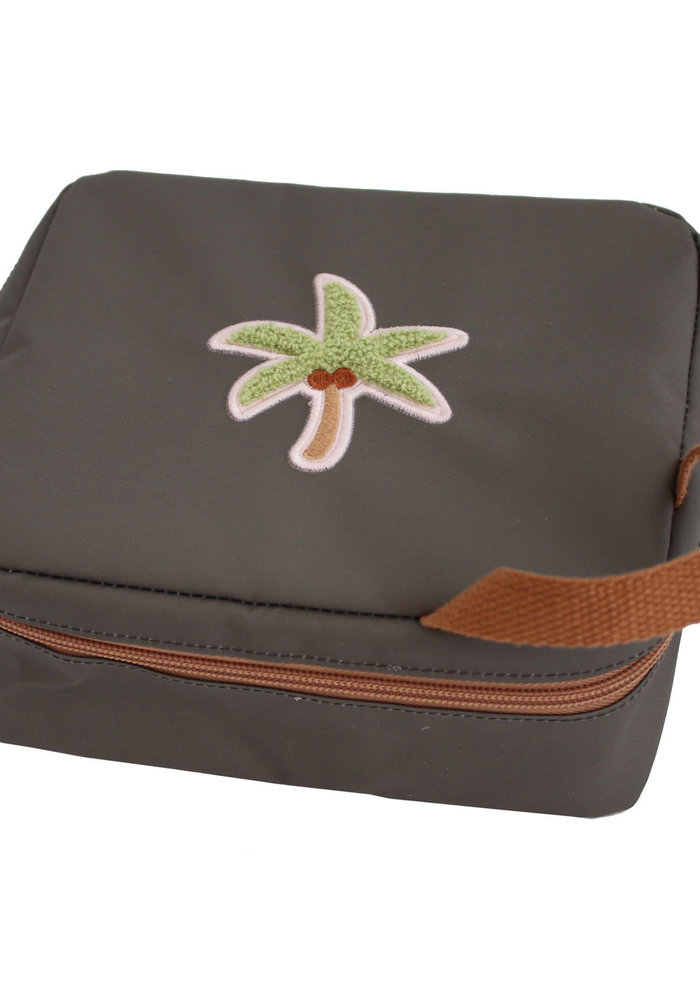 Eef Lillemor Tropics Patch Insulated Lunch Bag – Palm Tree
