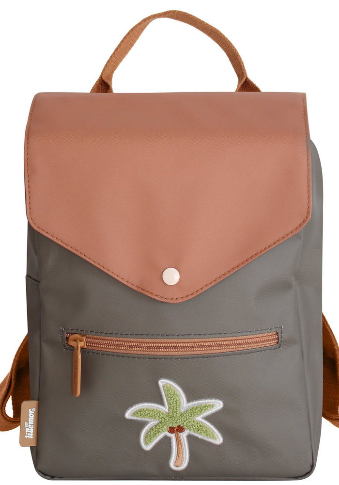 Eef Lillemor Tropical Patch Backpack – Palmtree (Age 4-8)