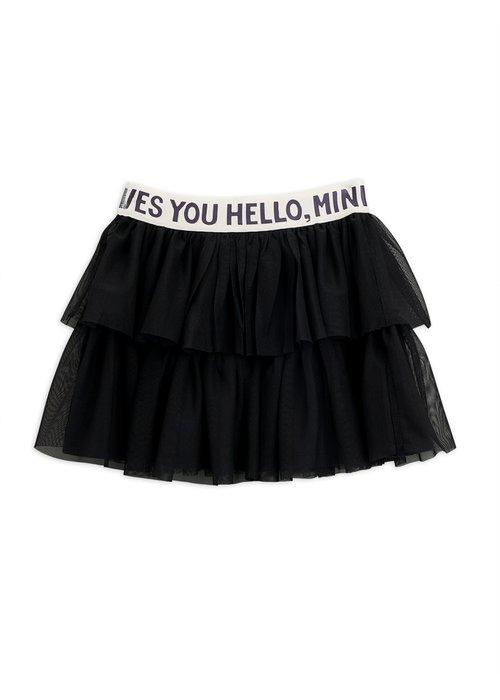 Mini Rodini Mini Rodini Tulle Skirt Black