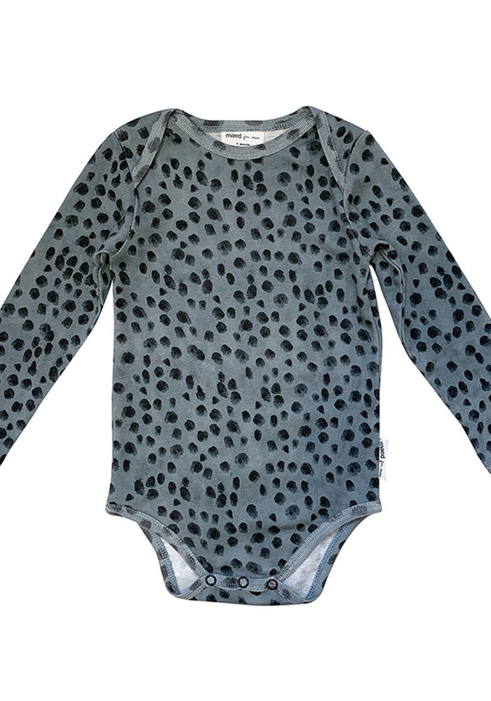 Maed for Mini Body Lazy Leopard AOP