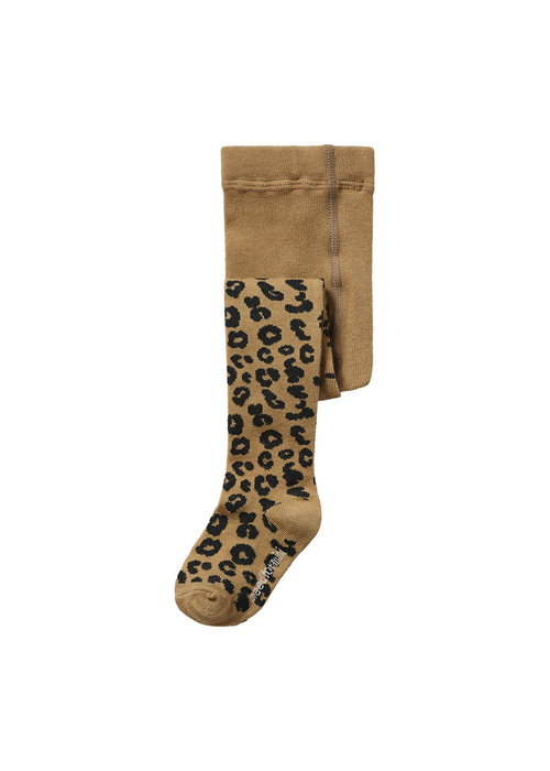 Maed for Mini Maed for Mini Tights Brown Leopard AOP