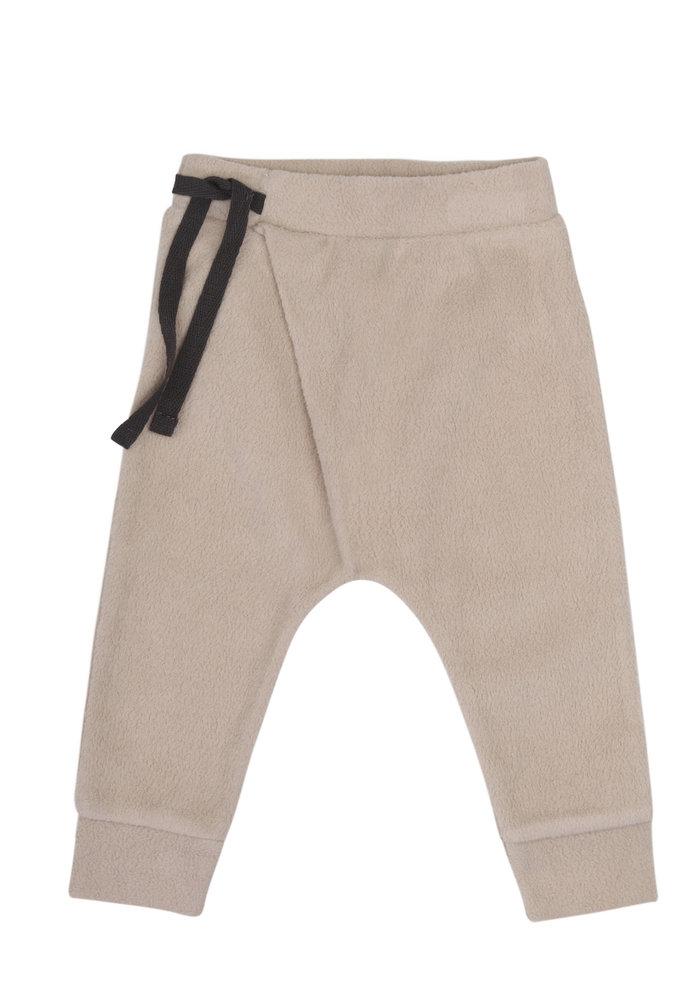 Phil & Phae Teddy Baby Pants Harem Straw