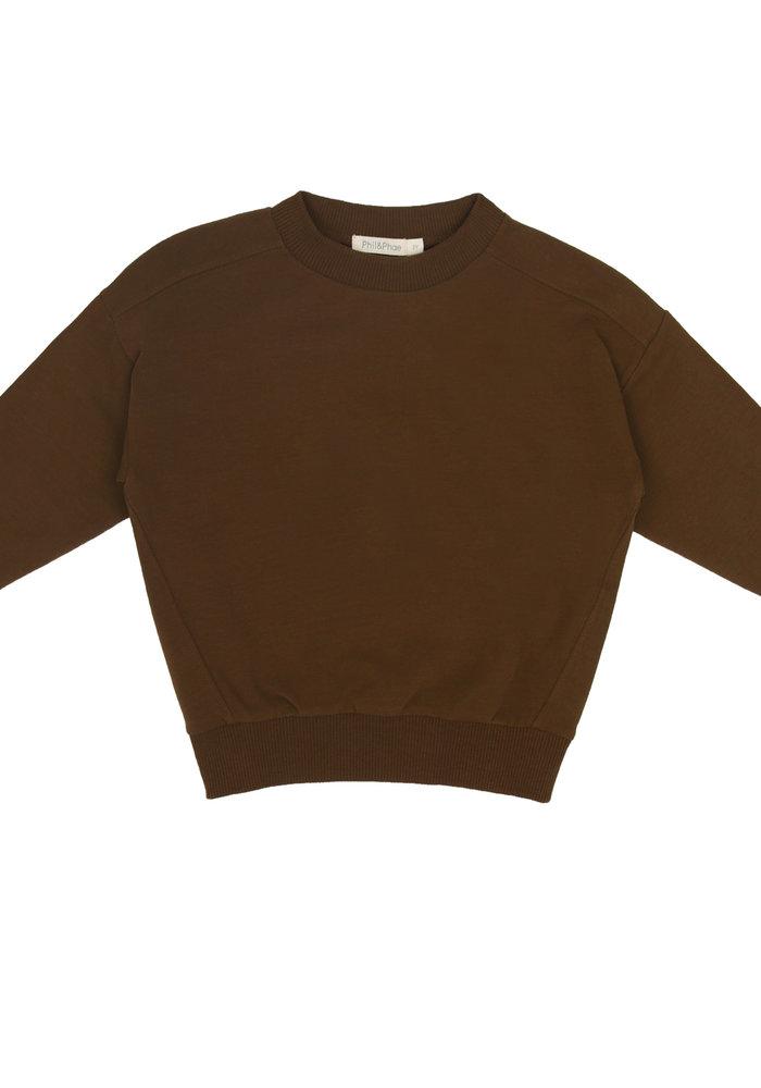 Phil & Phae Oversized Sweater Moss