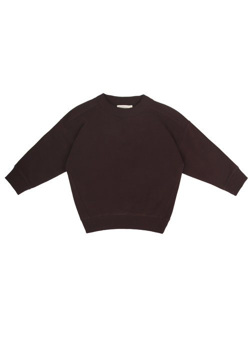 Phil&Phae Phil & Phae Oversized Sweater Cacao Nib