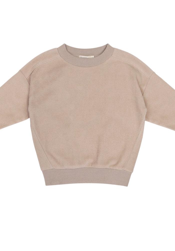 Phil & Phae Teddy Oversized Sweater Straw