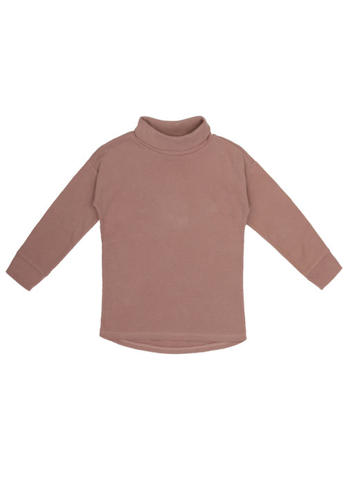 Phil&Phae Phil & Phae Rib Turtleneck Powder