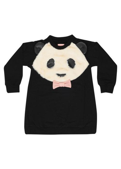 Wauw Capow by BangBang CPH Wauw Capow Sweatdress Panda Love Black