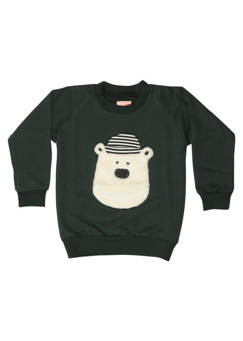 Wauw Capow by BangBang CPH Wauw Capow Sweater Hello Teddy Green