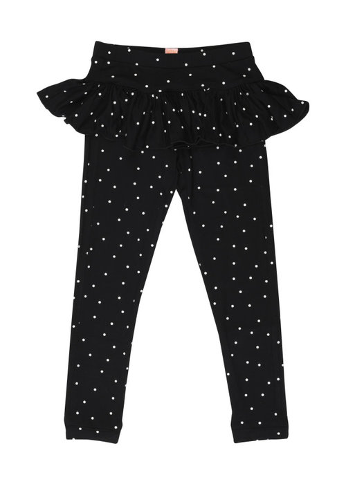 Wauw Capow by BangBang CPH Wauw Capow Legging Betty Black with White Dots