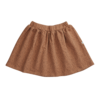 Blossom Kids Blossom Kids Skirt Leave Drops Caramel Fudge