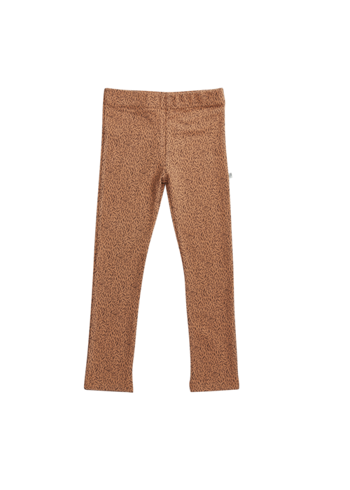 Blossom Kids Blossom Kids Legging Leave Drop Caramel Fudge