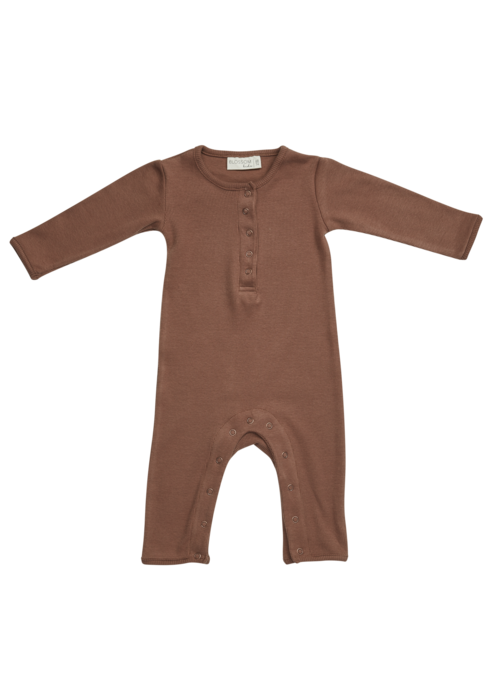 Blossom Kids Blossom Kids Playsuit Smoked Hazelnut