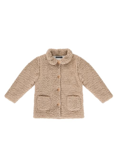 House of Jamie House of Jamie Teddie Collar Coat Oatmeal