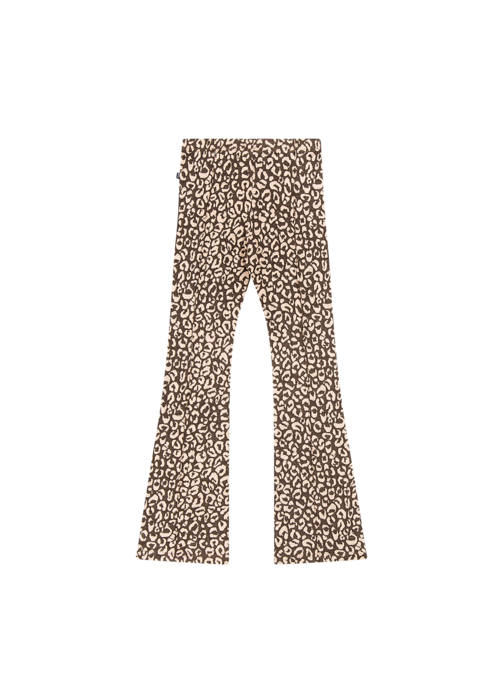 House of Jamie House of Jamie Mommy Flared Pants Rosewood Leopard