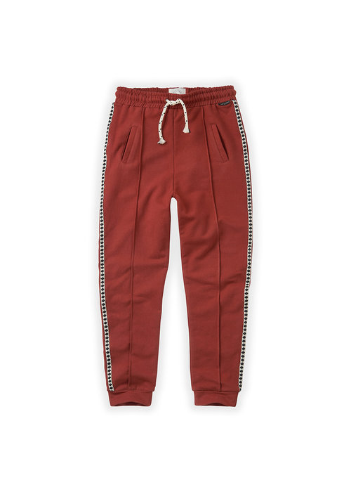 Sproet & Sprout Sproet & Sprout Trackpants Beet Maroon