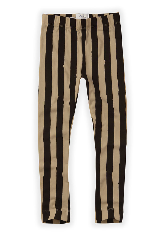 Sproet & Sprout Pants Painted Stripe Black/Nougat