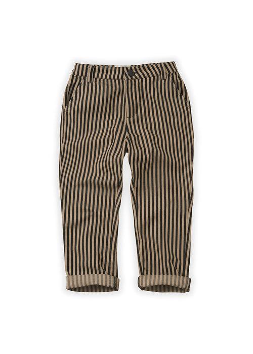 Sproet & Sprout Sproet & Sprout Pants Stripe Black