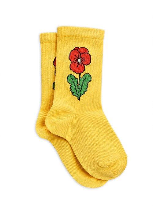 Mini Rodini Mini Rodini Viola Socks Yellow