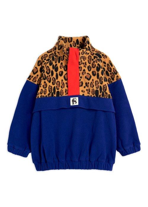 Mini Rodini Mini Rodini Fleece Zip Pullover Beige