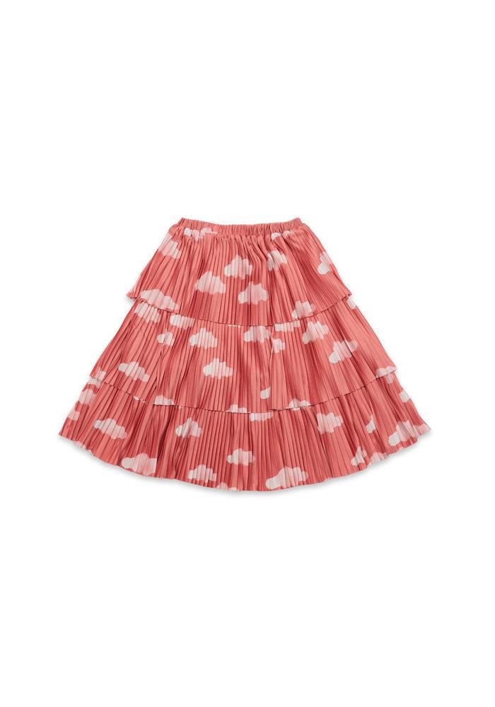 Bobo Choses Clouds Allover Woven Skirt