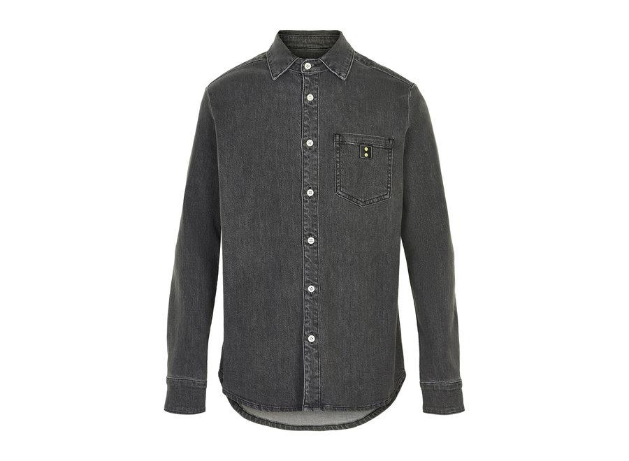 Cost Bart Kato LS Shirt Black Iris