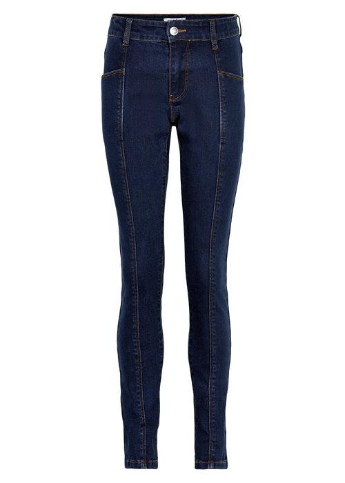 Cost Bart Cost Bart Kinnok Mid Waist Jeans Dark Blue Denim Wash