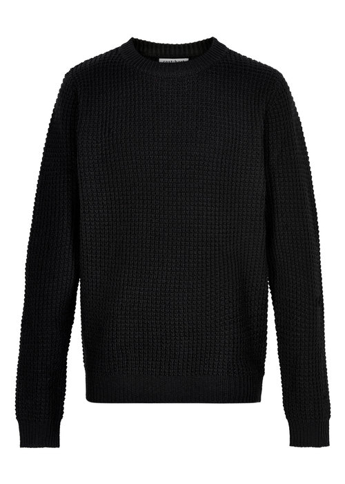 Cost Bart Cost Bart Kave LS Knit Pullover Black