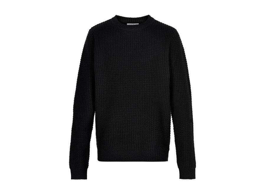 Cost Bart Kave LS Knit Pullover Black