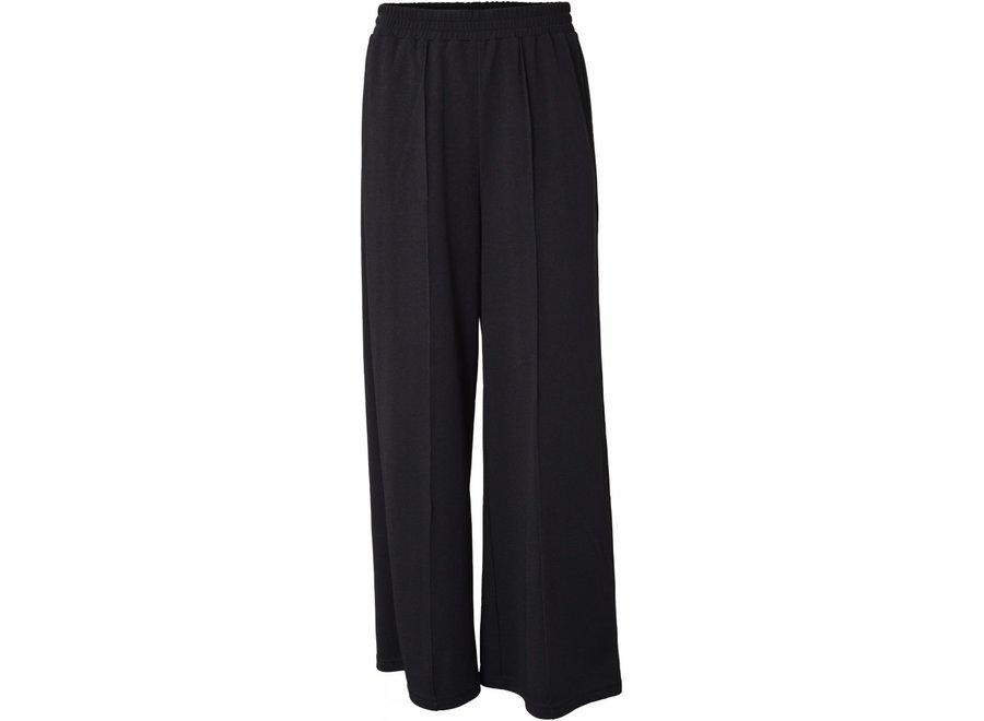 HOUND Wide Pants Black