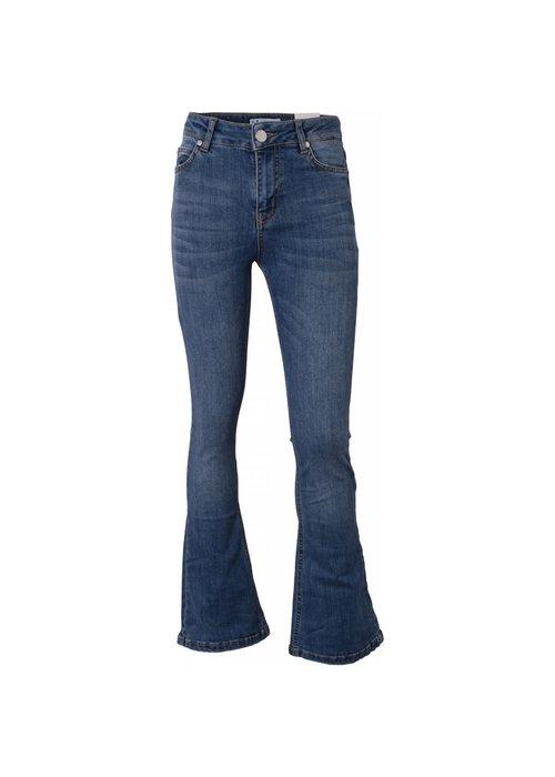 HOUND HOUND Bootcut Jeans Dark Blue Used