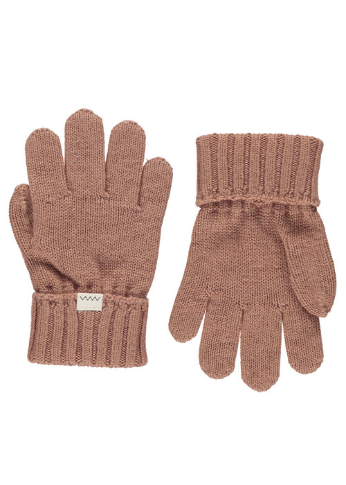 MarMar MarMar Aske Gloves Light Cotton Wool Rose Blush