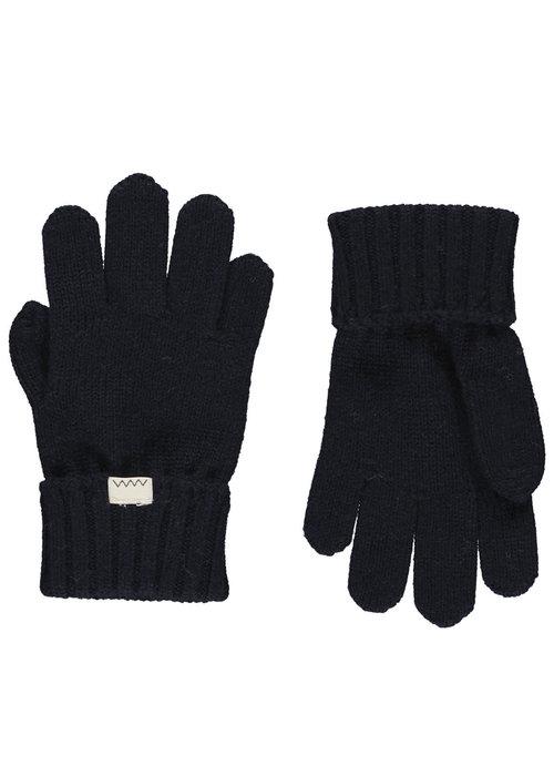 MarMar MarMar Aske Gloves Light Cotton Wool Darkest Blue