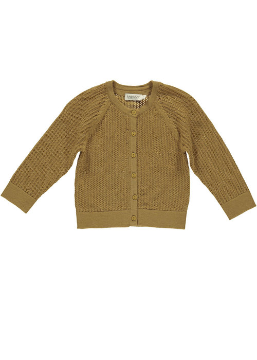 MarMar MarMar Totti Pointelle Light Cotton Wool Amber