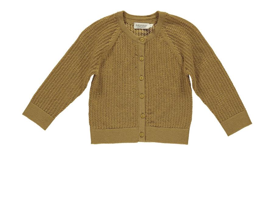 MarMar Totti Pointelle Light Cotton Wool Amber