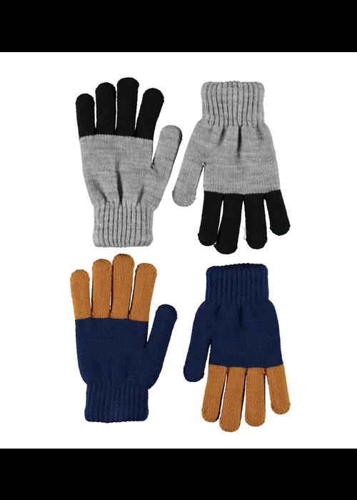 Molo Molo Keen Gloves Ink Blue