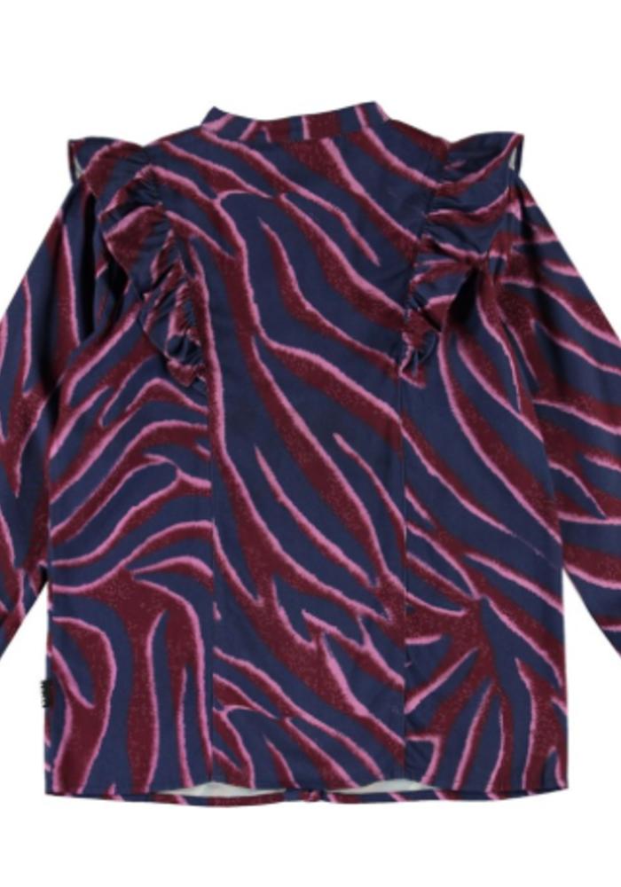 Molo Rassine Shirts LS Zebra Stripes