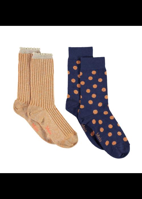 Molo Molo Nomi Socks Gold