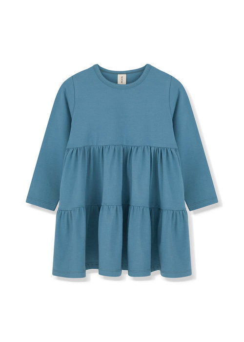 Kids on the Moon Kids on the Moon Teal Cascade Dress