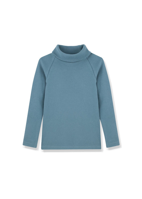 Kids on the Moon Kids on the Moon Cobalt Turtleneck