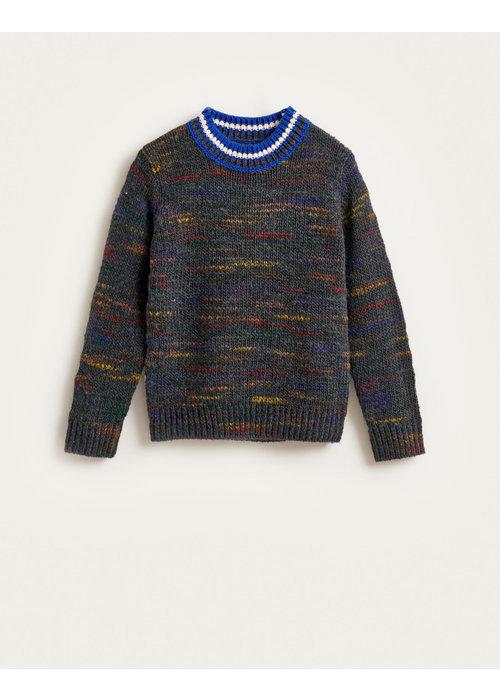 Bellerose Bellerose Gue Knitted Sweater Dark Grey