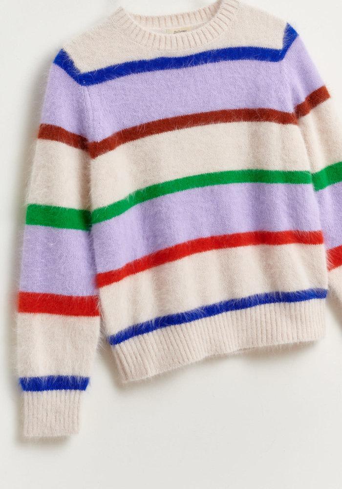 Bellerose Dweet Knitted Sweater Stripe
