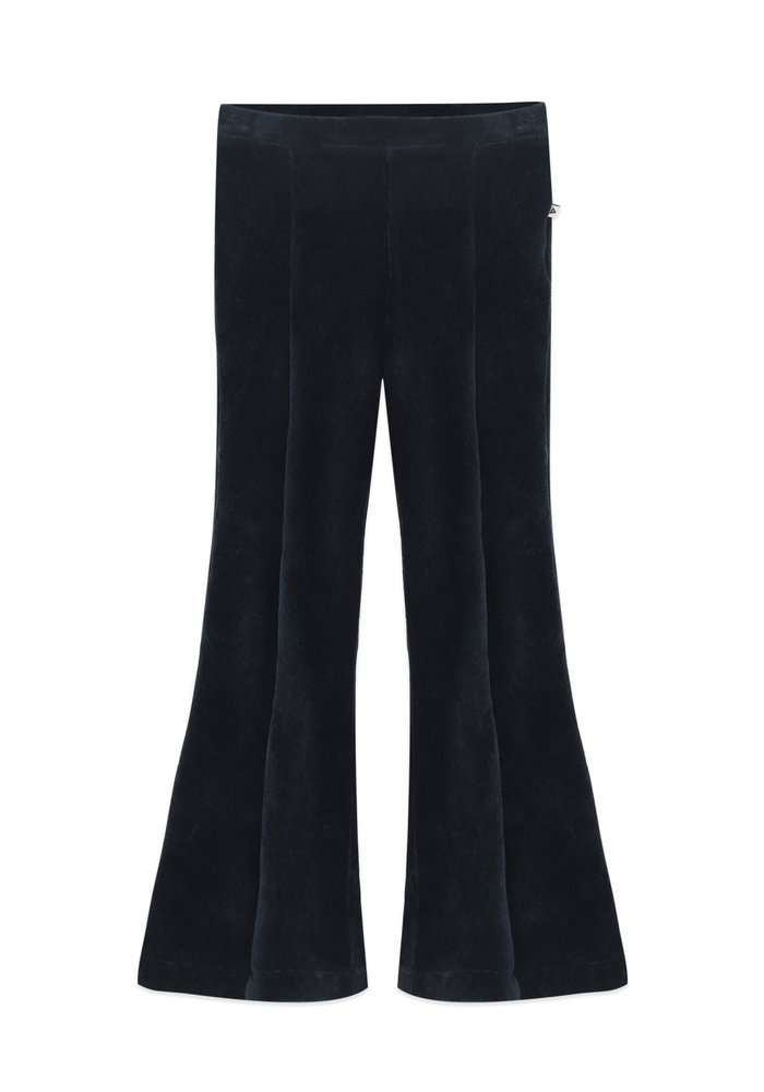 Ammehoela Liv Flared Pants Deep Blue
