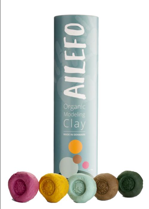 Ailefo Ailefo Organic Clay Basic Colors Tube