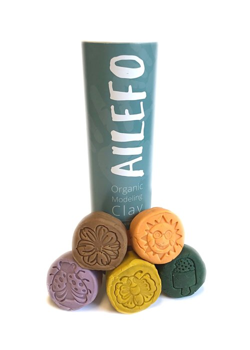 Ailefo Ailefo Organic Clay Forest Colors Tube