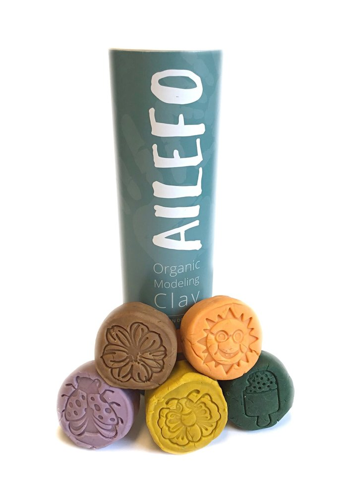Ailefo Organic Clay Forest Colors Tube