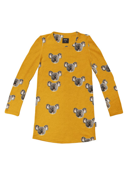 SNURK SNURK Koalas Long Sleeve Dress Kids