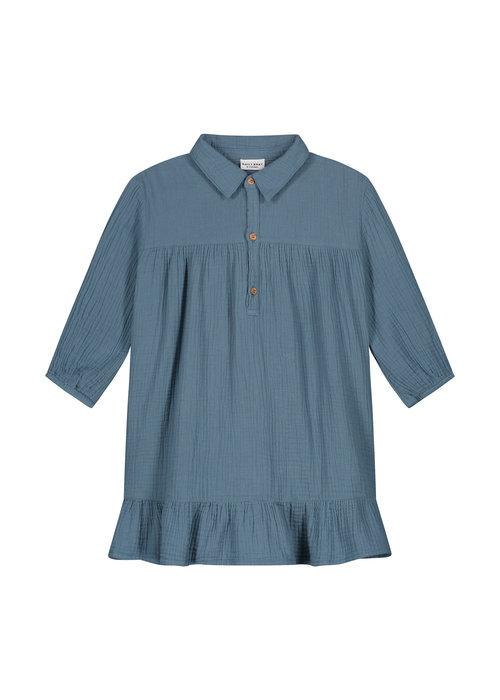 Daily Brat Daily Brat Lilyan Dress Forest Blue